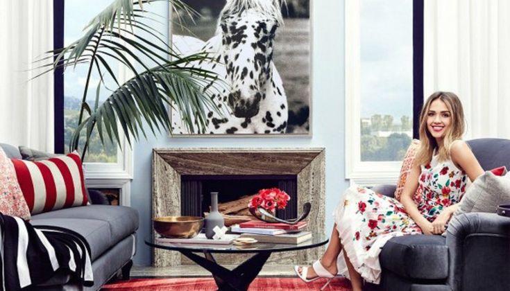 Η Jessica Alba Μετέτρεψε το Πρώτο της Διαμέρισμα σε Διακοσμητικό Κόσμημα