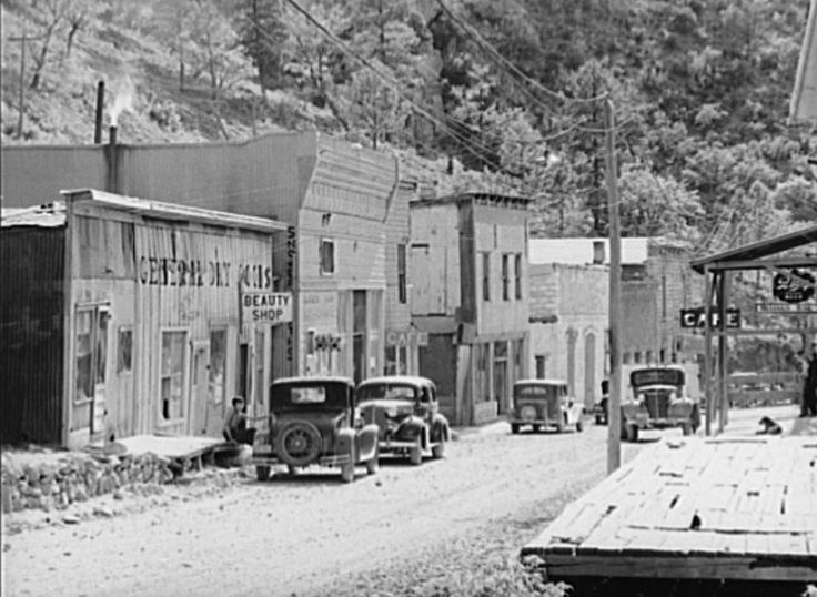 1940s rural new mexico images | Native American History Around Silver City, NM | Casitas de Gila ...