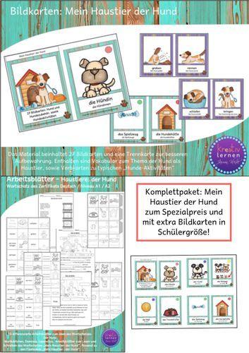 Komplettpaket Mein Haustier Der Hund Spezial Download Mit Bildern Haustiere Tiere Hunde