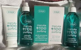 *Nina's Bargain Beauty*: Ziaja Manuka Tree Purifying Range Review