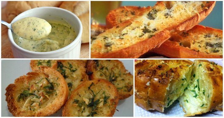 O pão-de-alho é uma prato originário da Itália e é, basicamente, um pão guarnecido com uma pasta de alho e azeite (pode...