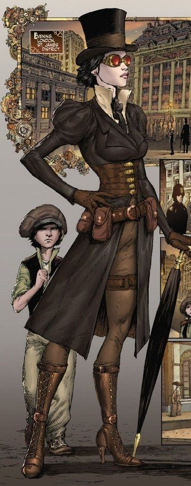 Lady Mechanika: Tablet of Destinies # 2 - Art by Joe Benitez & Martin Montiel