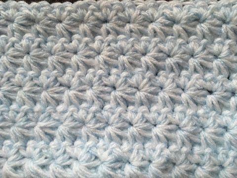 Star Stitch Crochet Tutorial - YouTube