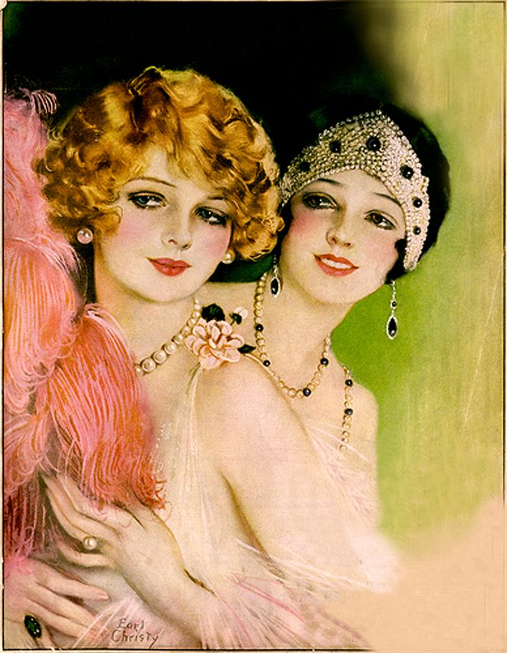 Pictorial Review - January 1925 – Illustration by Earl Christy - @~ Mlle