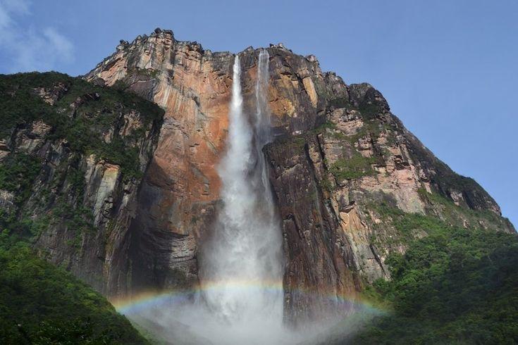 Пазл Водопад Анхель — собрать пазл онлайн