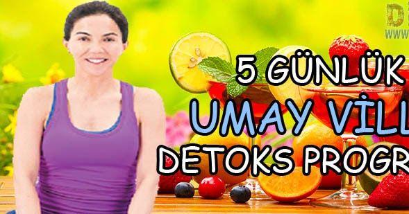 Umay Villa'dan 5 günlük detoks programı ile yağları yakın, kilo verin, zayıflayın.