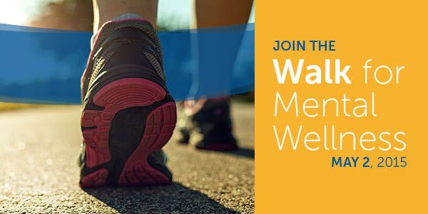 Are you ready for the Walk for Wellness 2015?#MHAFwalk