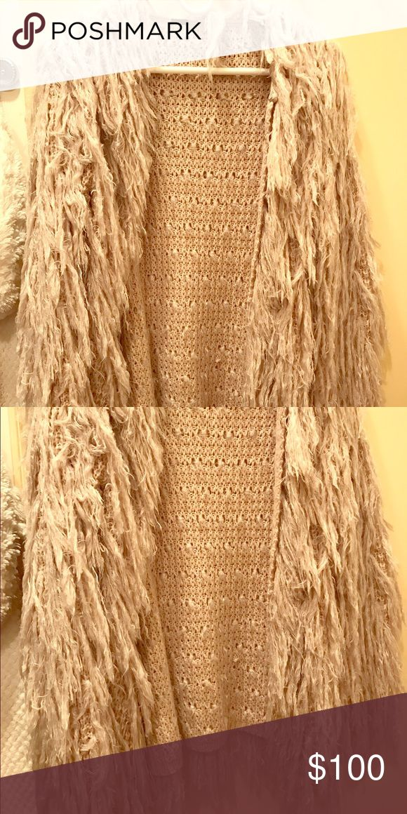 Free people fluffy coat Free people fluffy coat in very good condition! Size S Free People Jackets & Coats