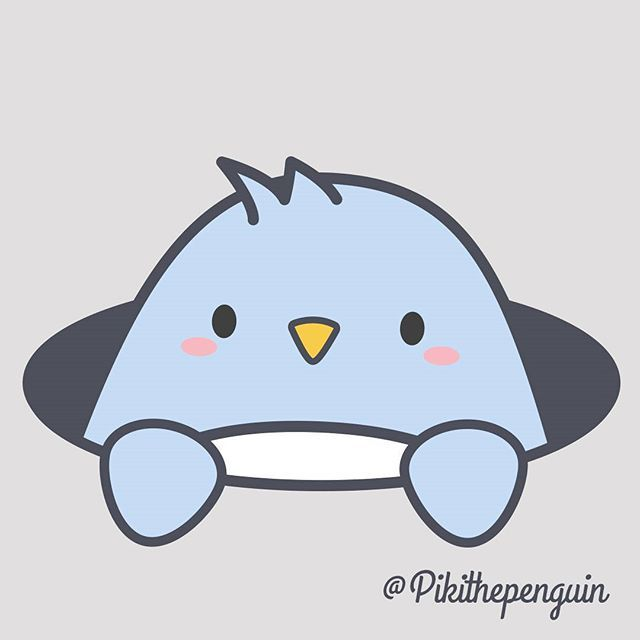 #Piki #pikithepenguin #kawaii #kawai #cute #way #character #vector #picoftheday #instagood