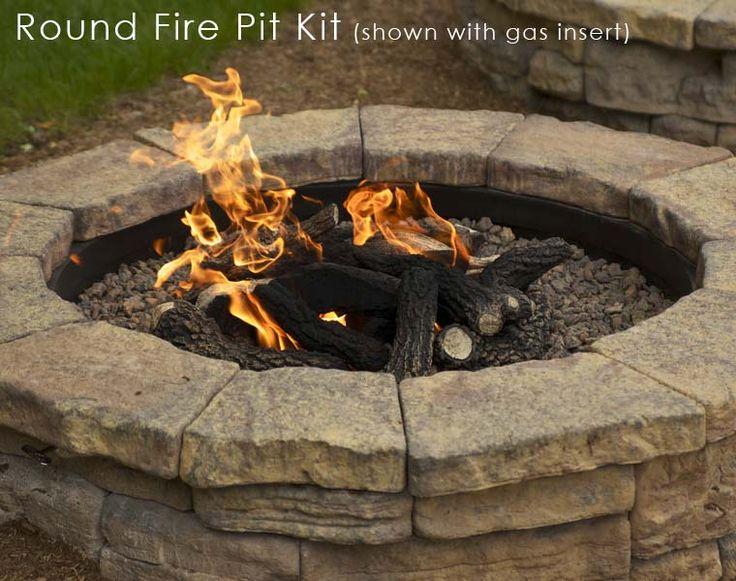 stone fire pit kit decorative stone