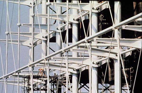 Centre pompidou structure recherche google - Centre george pompidou architecture ...