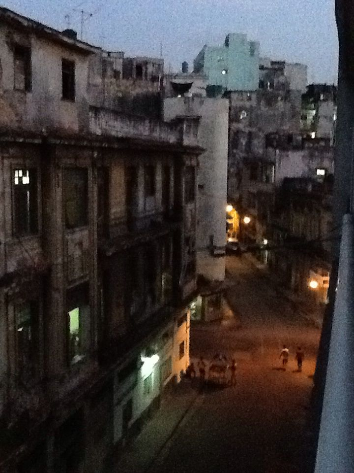 The view from my casa particular in habana Cuba