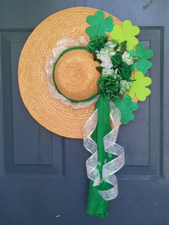 My st patricks day door decoration rlm wreaths for 3 wreath door decoration