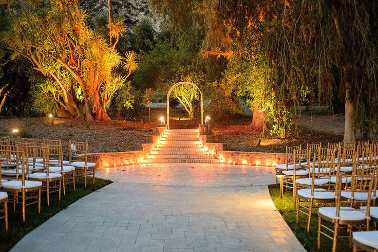 The perfect autumn wedding venue in southern california for Best wedding places in california