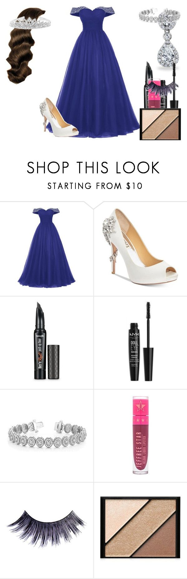 """""""Lillian Lockstar In """"Welcome To The Dressing Room"""" Music Video"""" by shestheman01 on Polyvore featuring Badgley Mischka, Benefit, Allurez, Jeffree Star, Manic Panic NYC, Elizabeth Arden and BillyTheTree"""