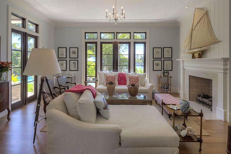 Benjamin Moore 39 S Glass Slipper Greyish Blue White And Black Accents Living Room Pinterest