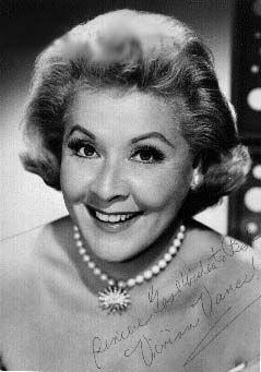 Vivian Vance Born: 26-Jul-1909  Birthplace: Cherryvale, KS  Died: 17-Aug-1979  Cancer - Bone
