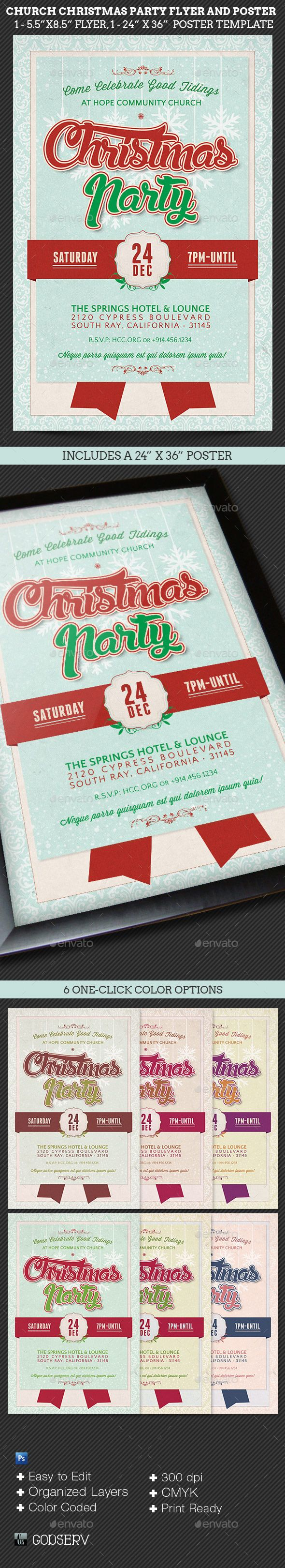 best images about christmas print templates church christmas party flyer poster template