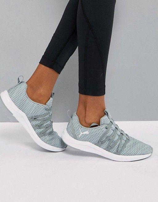 92758a46 Puma Prowl Alt Weave Training Sneakers In Gray | Werk | Womens ...