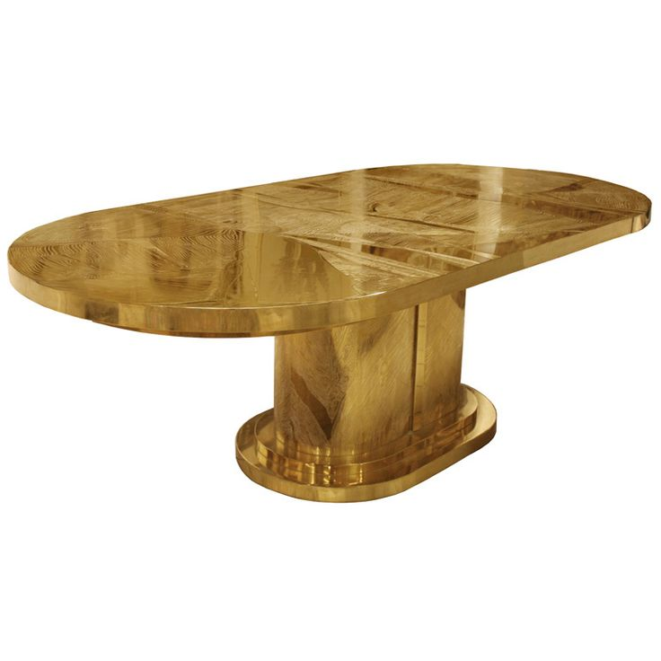 Signed Armand Jonckers Etched Bronze Dining Table. Art Deco FurnitureModern  ...