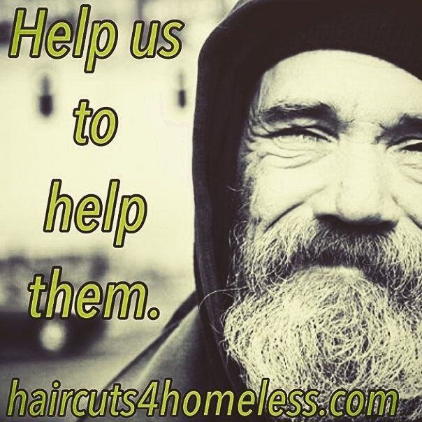 Today Teamakito Launch Haircuts4homelessuk In Leeds We Need Your Help To Build A Community Of Hairdressers Barbers Make This Project