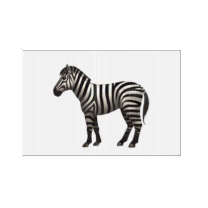 #Zebra - Emoji Sign - #emoji #emojis #smiley #smilies