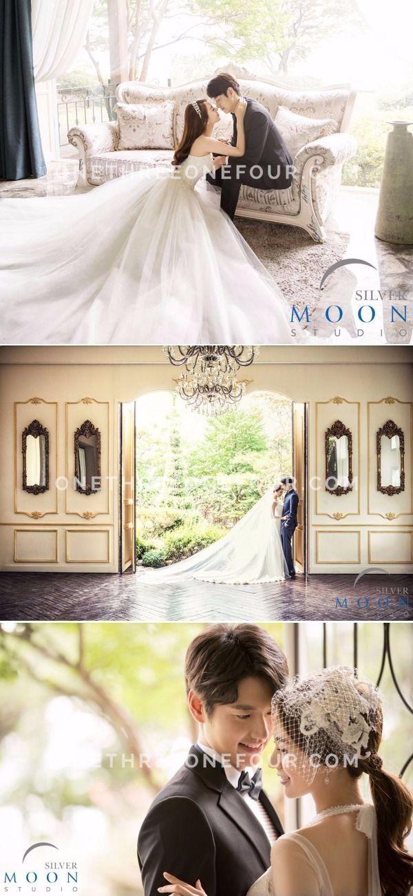 Korean Studio Pre-Wedding Photography: Silver Moon Studio - Dream, Elegant, Vintage