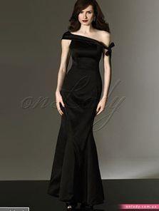Купить черное длинное сексуальное платье