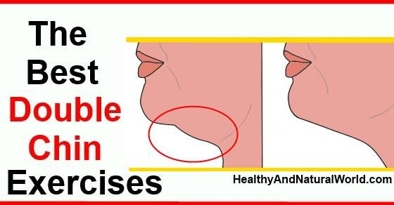 Double chin exercises - Learn how to lose double chin without chin liposuction