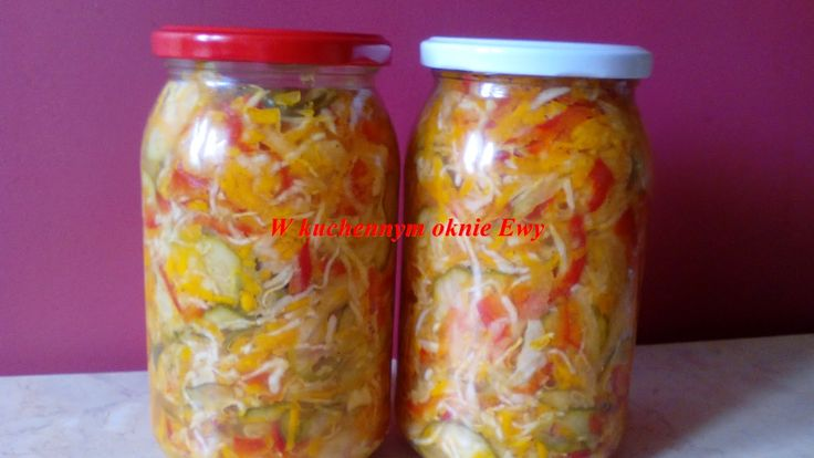 W kuchennym oknie Ewy: Pyszna sałatka na zimę