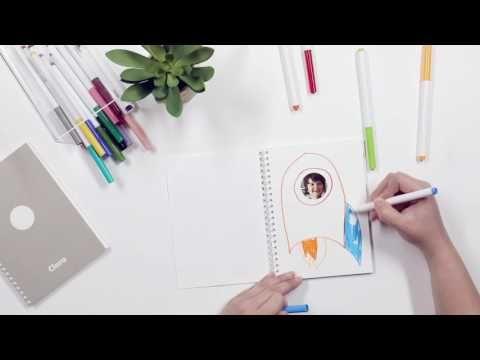 Family Faces Sticker Book   Pinhole Press