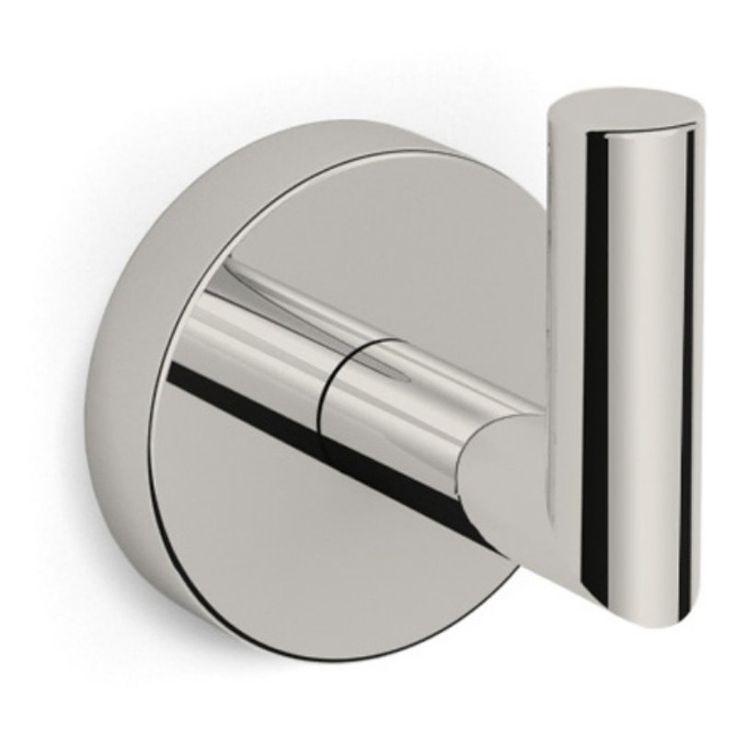 Nameeks Luxury Hotel Bathroom Hook Satin Nickel - NAMEEKS NNBL0029