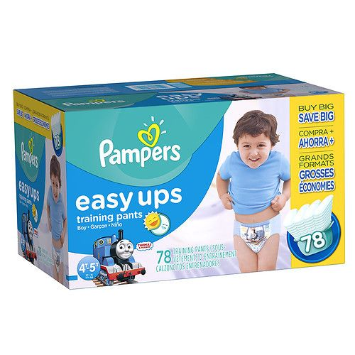 Pampers Easy Ups Training Pants Boys Size 7 (4T/5T)