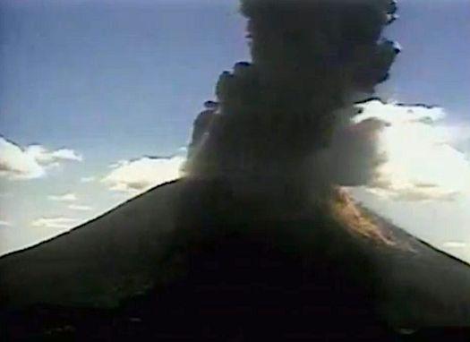 Erupting Volcano Caught on Camera (RAW VIDEO)