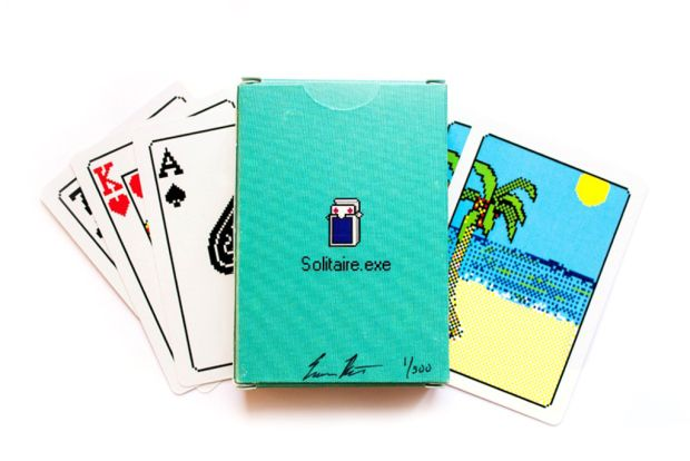 """Windows 98 """"Solitaire.exe"""" Bicycle Playing Cards 