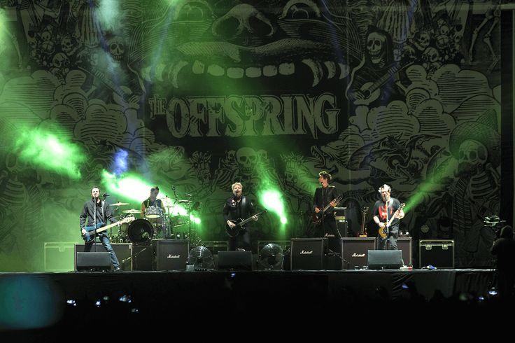Galería fotográfica de The Offspring @ RockOut Fest, Estadio Santa Laura…