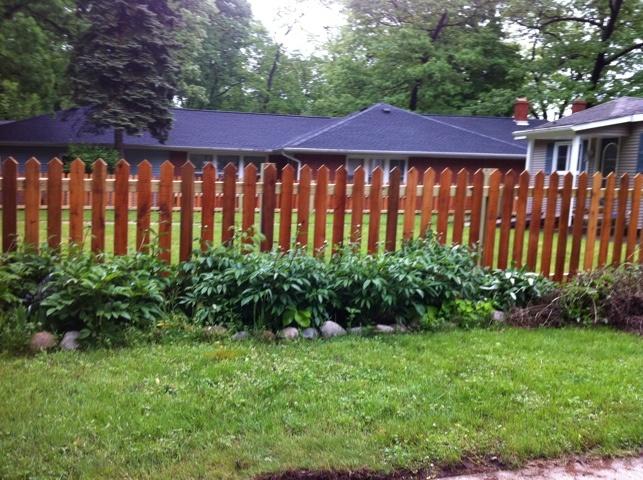46 best fence ideas images on Pinterest | White picket fences ...