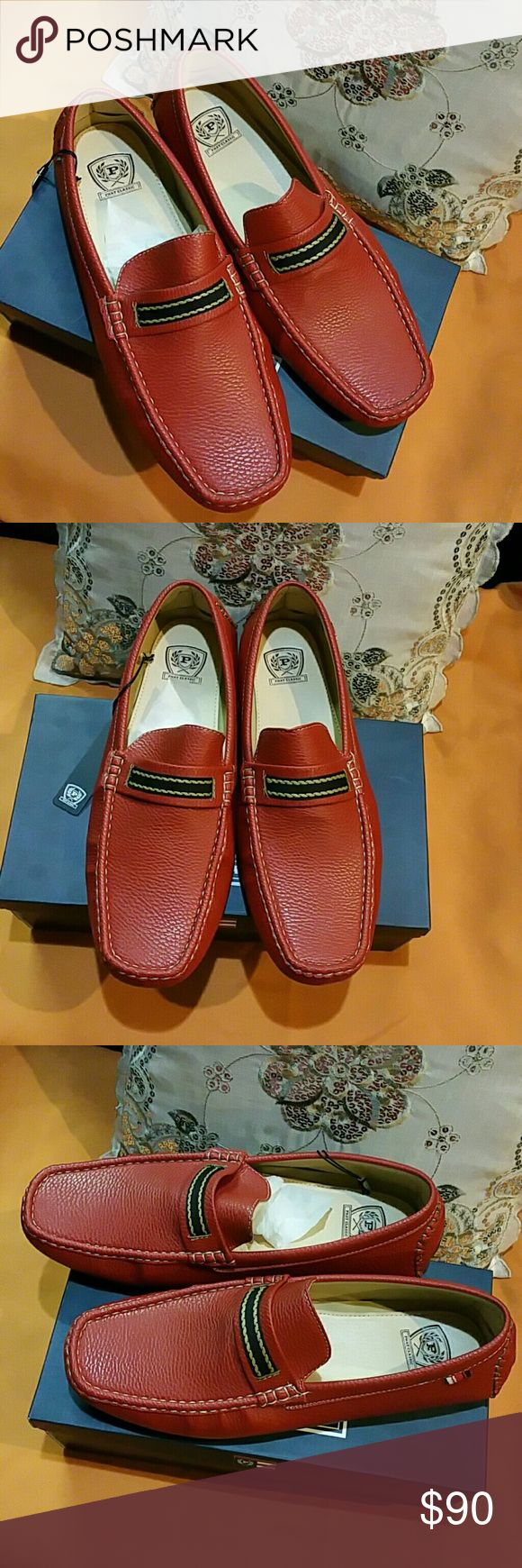 $$$ Sale!  NWT.  Men's Loafers? Price Drop. Red Men's Loafers. Never worn Shoes Loafers & Slip-Ons