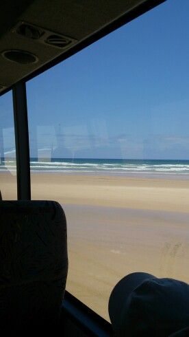 View from the bus,  75 mile beach.