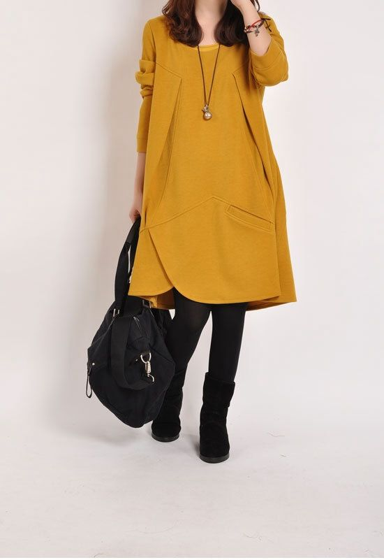 Casual Long Sleeve Tshirt for Autumn and Spring  by deboy2000, $56.99
