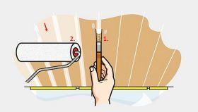 Delete wooden ceiling: On YouJustDo.de we show you step by step how to paint your wooden ceiling correctly.