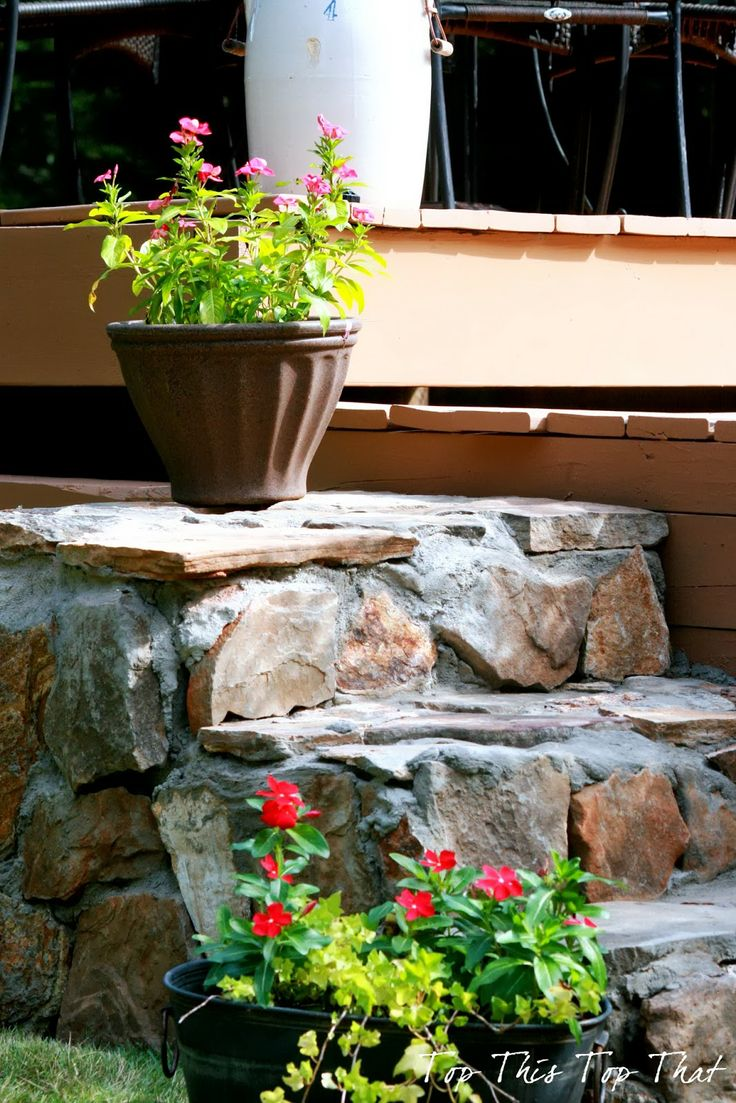 Diy stone project from top this top that back yard ideas for Diy stone projects