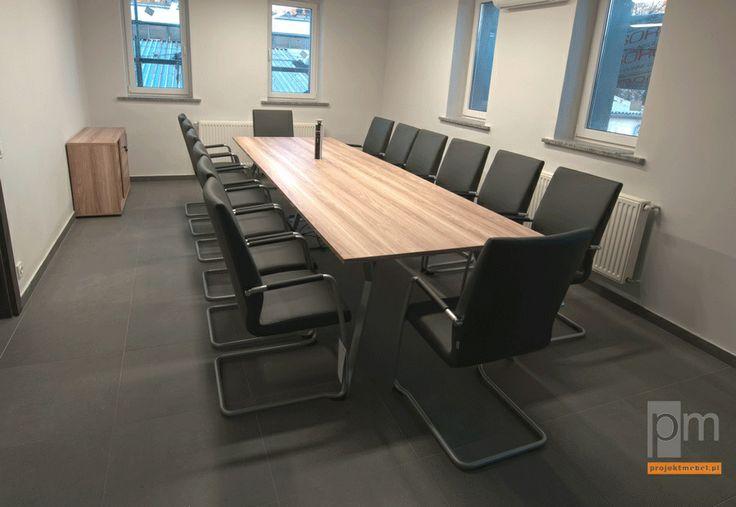 Energomechanik stół konferencyjny http://www.projektmebel.pl/realizacje