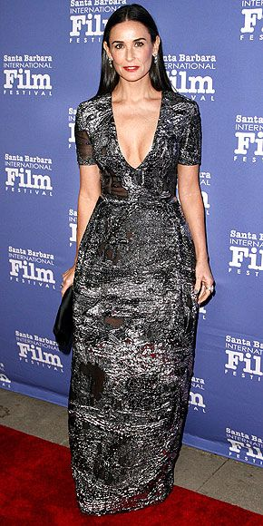 Demi Moore in Prabal Gurung @ 2014 Santa Barbara International Film Festival