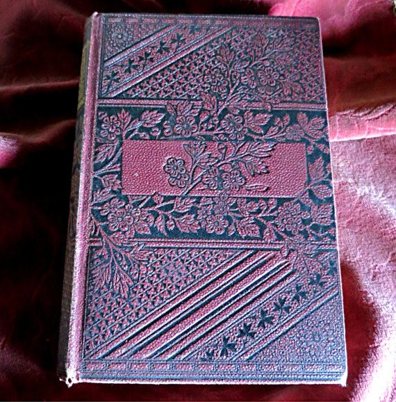 Antique Jane Eyre Book Antique Charlotte Bronte by mybonvivant