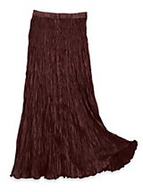 Silk Broomstick Skirt 93