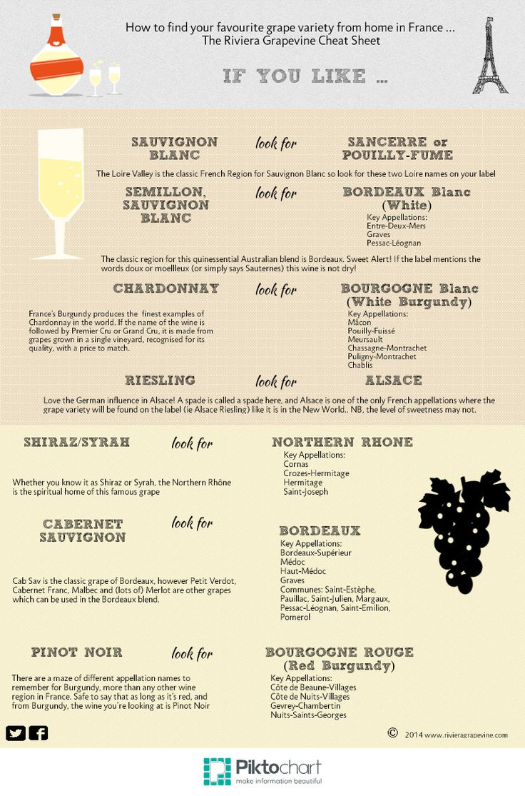 The Top French Wine Cheat Sheet #infographics #wine #food — Framed Lightscap3s, LLC