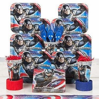 Captain America Themed Party Supplies and Ideas | Fun Themed Party Ideas