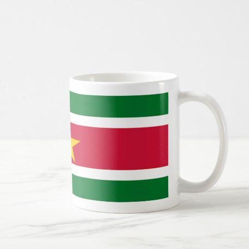Suriname Flag Coffee Mug
