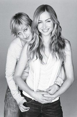 Repinning for @Katie Swanson and her newfound girlcrush on Portia de Rossi. Yeah, that's her. And her wife. :D
